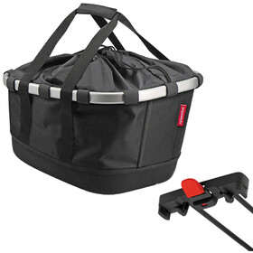 KlickFix Reisenthel GT Bike Basket for Racktime, black